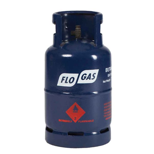 7kg Butane Flogas gas cylinders - 20mm Regulator