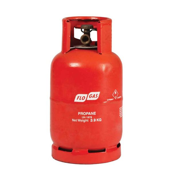 3.9kg Propane Flogas gas cylinders