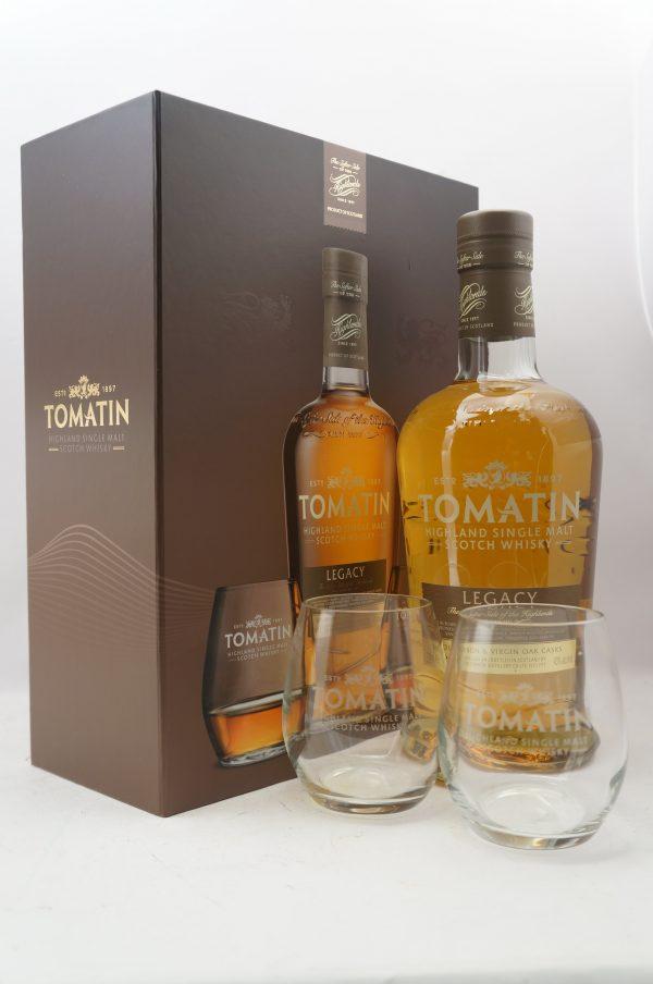 Tomatin Legacy gift set
