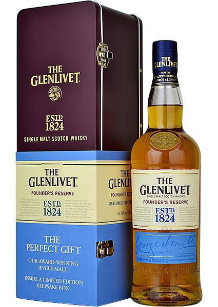 Glenlivet Founders Reserve Gift Tin