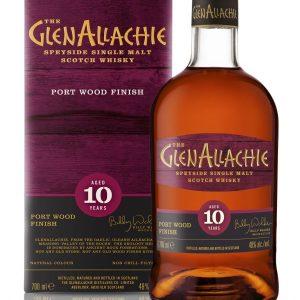 The Glen Allachie Port Wood Finish