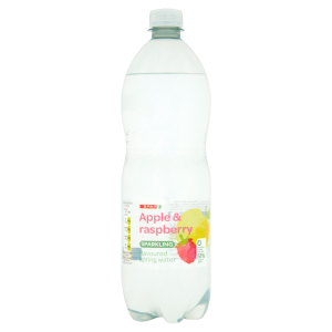 Spar Apple & Raspberry Sparkling Flavoured Spring Water 1L