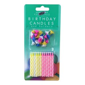 Birthday Candles 24 Pack