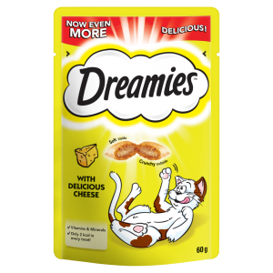 Dreamies Cheese Adult 1+ Cat Treat 60g
