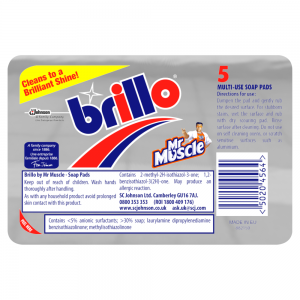Brillo Multi-Use Soap Pads 5 Pack